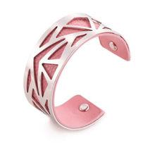 Модный браслет с полым узором для женщин, индивидуальный золотой серебряный цвет, регулируемый по ширине браслет и подарочные браслеты и юв...(Китай)