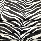 China fabric wholesale 100% polyester zebra print fashion fabric for upholstery sofa/bag/toy/cap/pillow