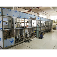 Pass-through Car Washing System Touchless Drying Production Line Die-casting Aluminum Parts Ultrasonic Cleaning Machine