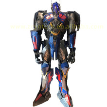 <span class=keywords><strong>Halloween</strong></span> <span class=keywords><strong>Di</strong></span> Natale Su Ordinazione Cosplay a grandezza naturale Robot costume adulto optimus transformer prime costume per <span class=keywords><strong>adulti</strong></span>