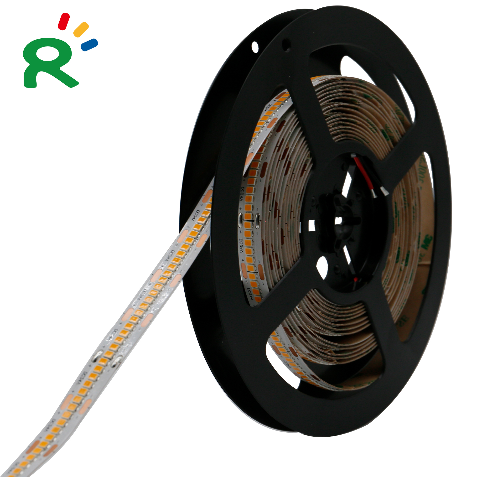 300LEDs/m SMD2835 Bulit-in IC LED Strip Light CE ROHS With High Density 12MM PCB