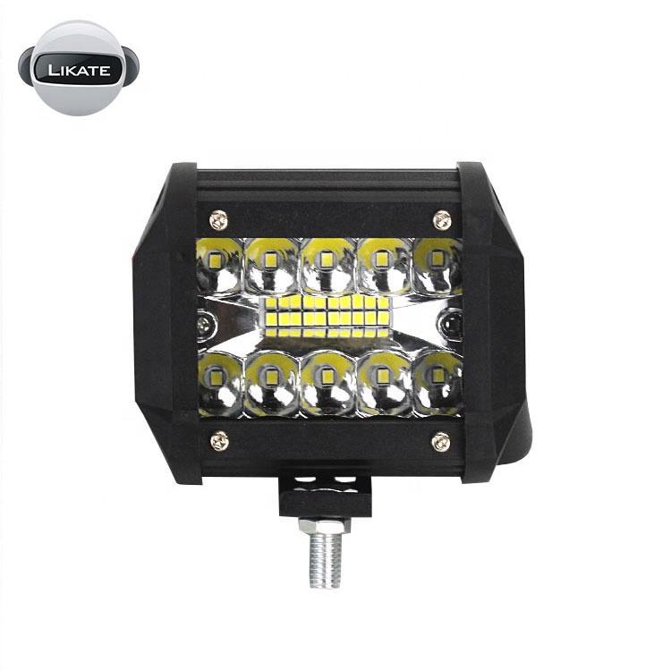 lkt Cheap 4inch spot flood beam offroad 60W LED light bar led lights for car decoration