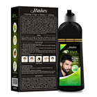 Factory Price 100% Organic Natural Hair Dye Color Shampoo