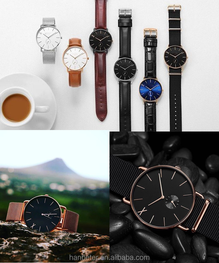 OEM Fashion Men's Wrist Watch Luxury Minimalist Wristwatches Brand Your Own Watch Quartz Watches Men Wrist Quartz