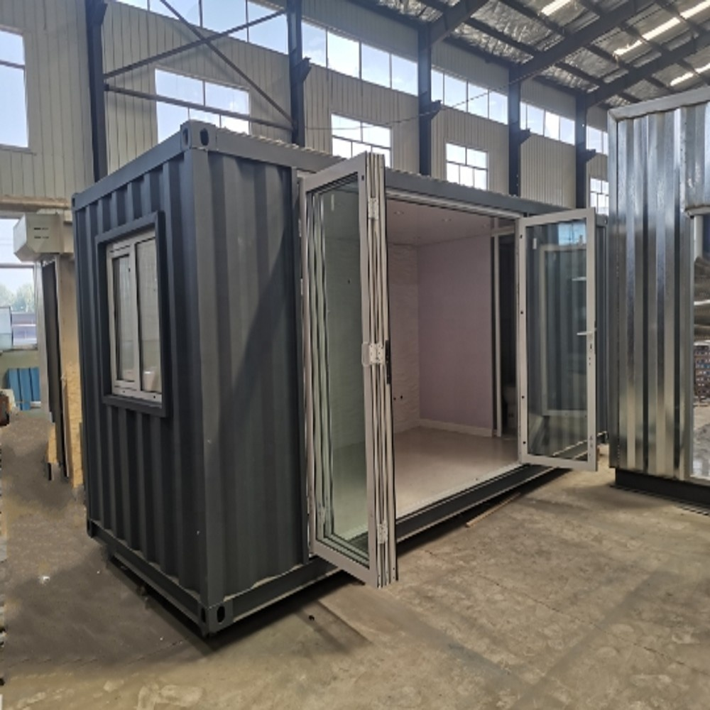 Modern Shipping Container Home low cost modern living american style villa glass 20ft