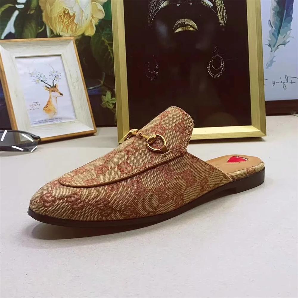 الأعلى مبيعاً أحذية جلدية فاخرة فراء البغال أحذية رضع رخيصة للبيع بالجملة