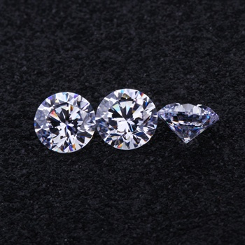5A High Quality 3.5-10.00mm White Cubic Zirconia, Round brilliant Cut wholesale factory price Synthetic Cubic Zircon