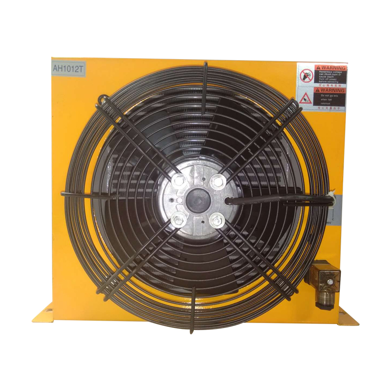 China Manufacturer AH0608 Ah1012T Hydraulic Part Air Cooler for CNC machine, industrial air heat exchanger