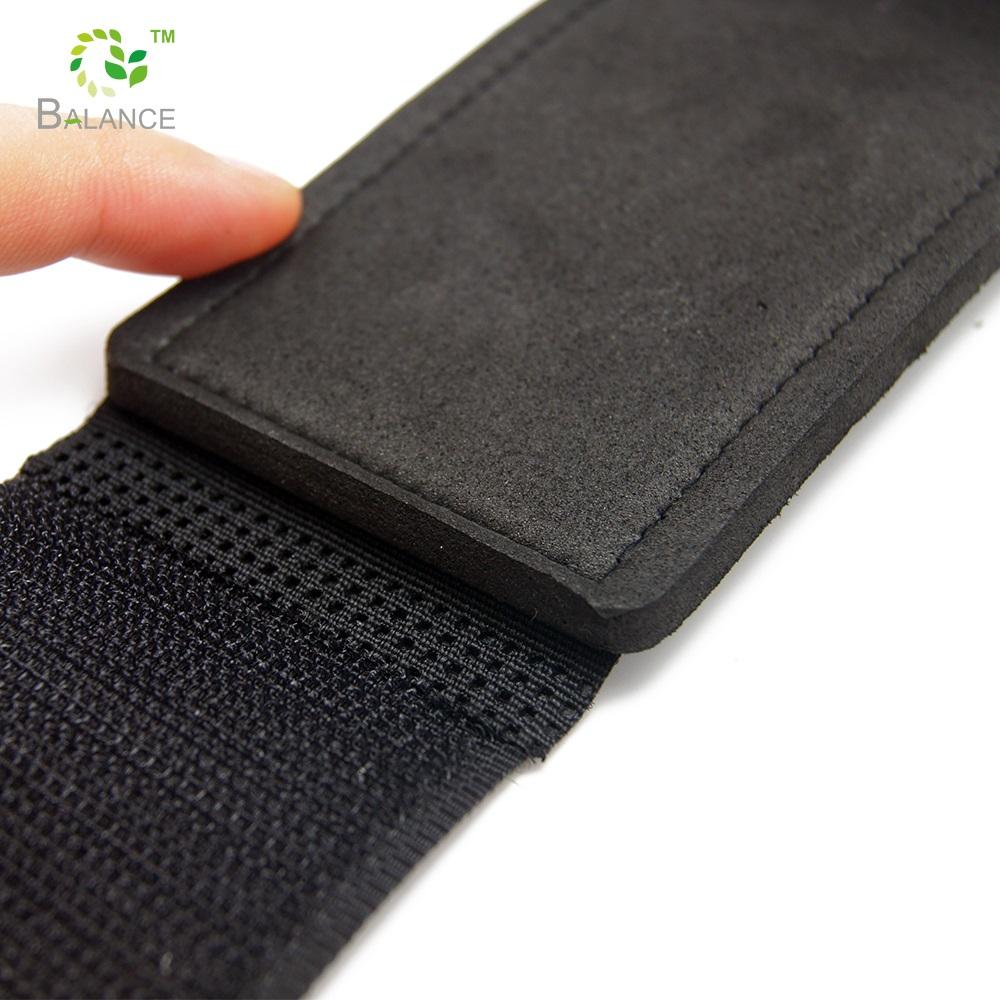 Binding ski hook and loop nylon belt strapping wrist band weight lifting belt