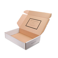 Custom corrugated cardboard packing boxes subscription shipping box