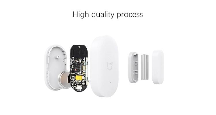 Original Xiaomi Mijia Door Window Sensor Pocket Size xiaomi Smart Home Kits Alarm System work with Gateway mijia mi home app