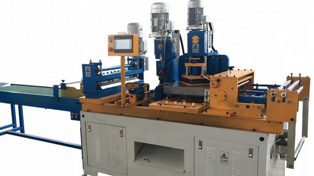 सीएनसी CRGO के लिए कदम गोद ट्रांसफार्मर कोर काटने की मशीन बिजली सिलिकॉन स्टील mitred laminations