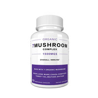 Wholesale Organic Mushroom Complex Capsules Health Care Supplement Immune Booster Supplements
