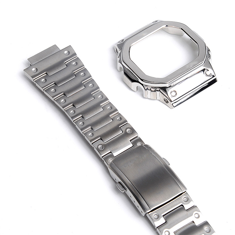 Stainless Steel Strap and Band 316l Watch Case DW5600 DW5610 GW5600