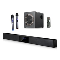 Custom 2.1 Soundbar Home Theater Music System Sale Surround Sound Subwoofer For TV Cost