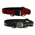 Hot selling product dog collar nylon name plate metal buckle for children