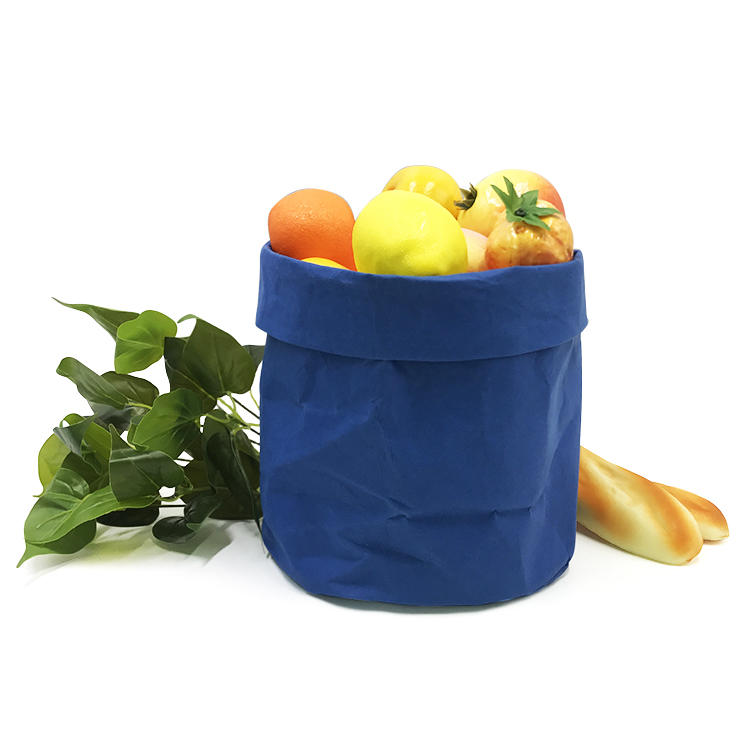 Eco Friendly Riciclato Lavabile Kraft di Carta Vaso di Fiori Copre