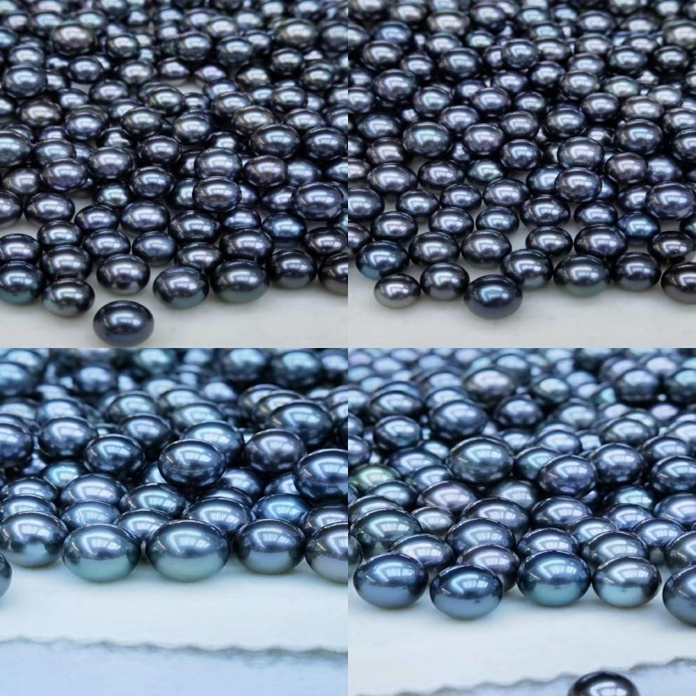 8-11mm AAA 등급 천연 해수 블랙 타히티 타히티안 진주 가격