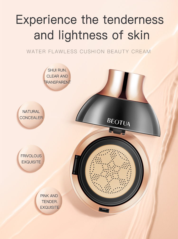 OEM ODM BEOTUA female whitening and moisturizing air cushion bb cream