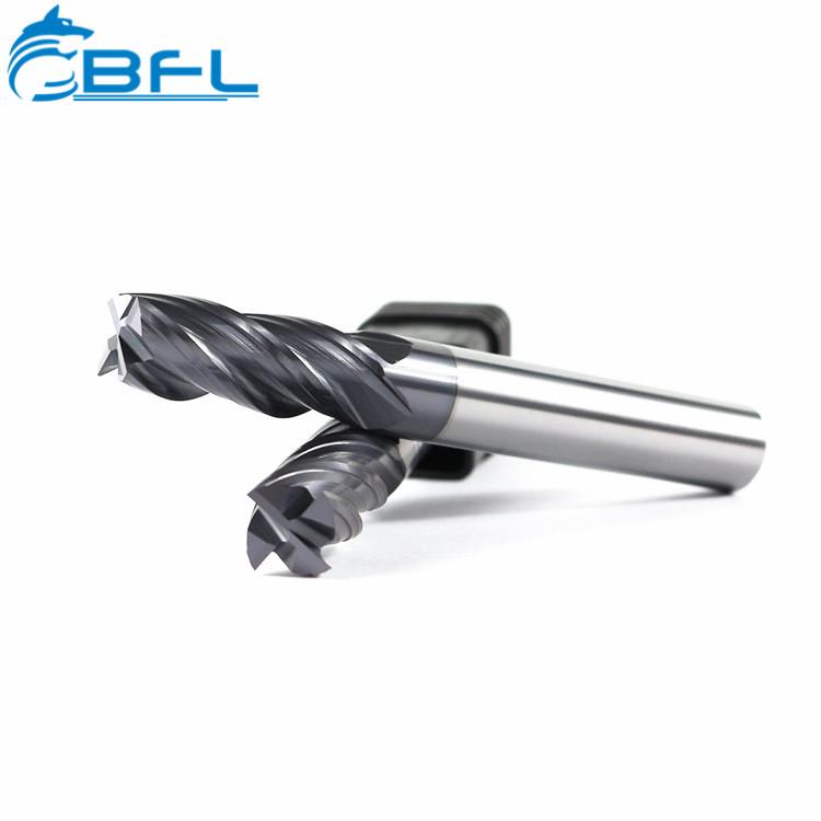 BFL Bán Hot Tungsten Carbide Công Cụ 4 Sáo Nhà Máy Cuối Cùng Vuông