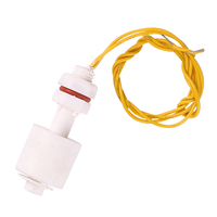 PP Liquid Water Level Sensor Horizontal Float Switch Down low pressure float switch Tank Pool Water Level Sensor 40cm wire