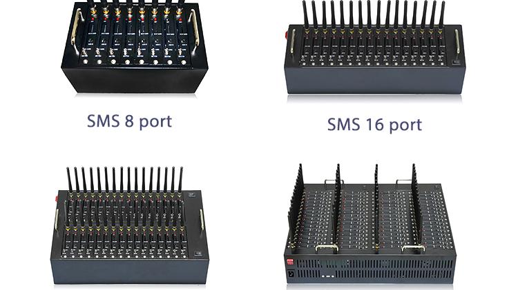 bulk sms  modem GSM / 3G /4G  Sim module board cast 8 port modem sms gateway reveive sms online