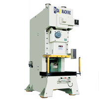 quick pneumatic metal power press, JH21-80 tons automatic steel plate high precision punch press for hole