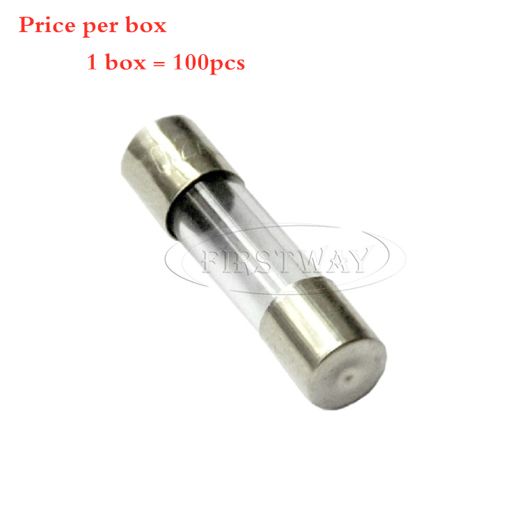 10 x 250V 1A 1000mA Quick Fast Blow Glass Fuses Tubes 6mm x 30mm