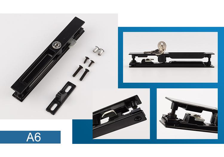 Hot sale  Aluminum alloy/zinc alloy  custom finish sliding window lock