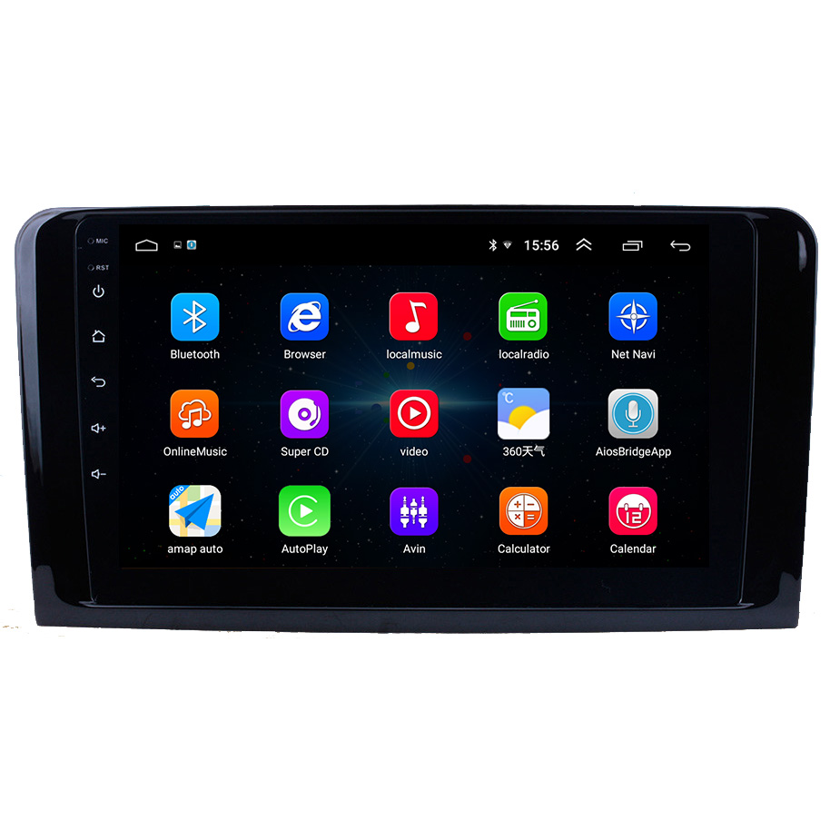 Android OS Car Multimedia Player For Mercedes Benz ML GL W164 ML350 ML430 ML450 ML500 2005-2012 GL300 GL350 GL420 GL450 GL500