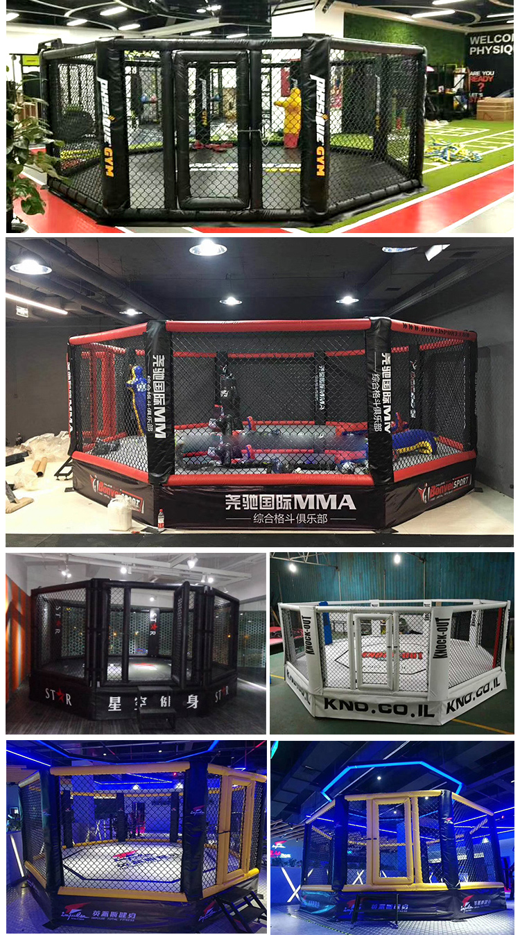 good protection best quality MMA octagon cage