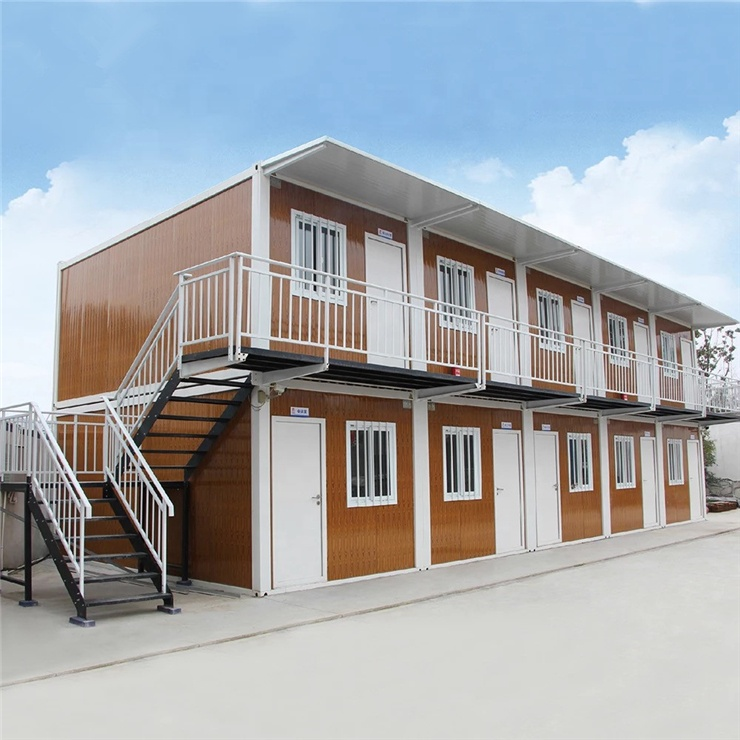 China factory direct prefabricated shipping container home prefab mobile living box house sales prefab house
