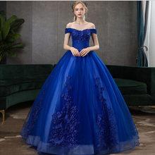 Quinceanera платья-винно-красного цвета, бальное платье для выпускного вечера со спущенными плечами и кружевными аппликациями на 2020(Китай)