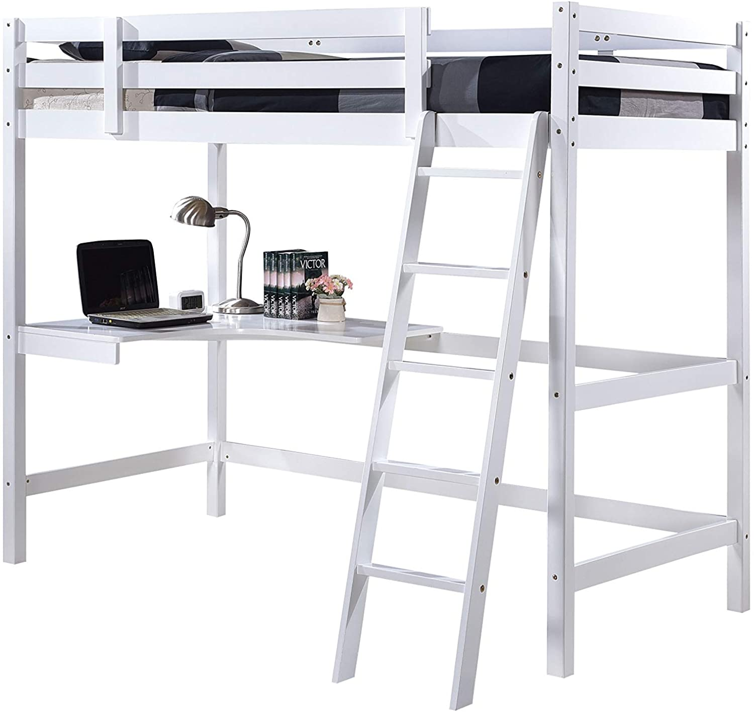 Picture of: Wooden Study Bunk Bed Stylish Single High Sleeper Kids Cabin Bed With Desk Buy Kids Bunk Beds With Stairs Childrens High Sleeper Beds Single Beds For Sale Product On Alibaba Com