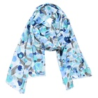 2019 Casual Cherry Print Cotton Viscose Hijab Outdoor Party Winter Scarf Women Green Blue Head Scarves Wholesale