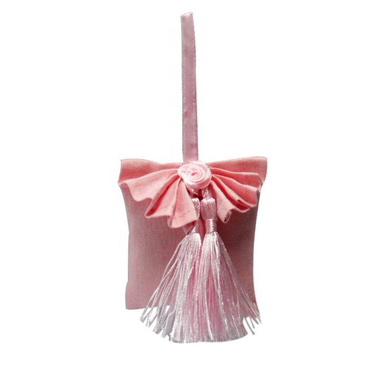 Custom pink girl home air freshener aromatherapy bag fragrant scented sachets