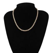 Женское Ожерелье В Стиле Хип-хоп Ingemark, кубинское колье-чокер с цепочкой в стиле стимпанк, ювелирные изделия(Китай)
