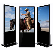 32 zoll Stand full HD lcd touch screen werbung player für shopping mall