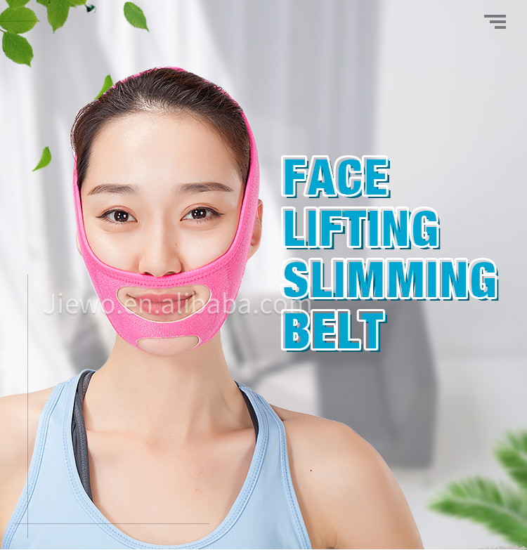 3D V-Line Face Cheek Chin Lift Up Slimming Belt Anti Wrinkle Sleep Mask Belt face Slimming Belt
