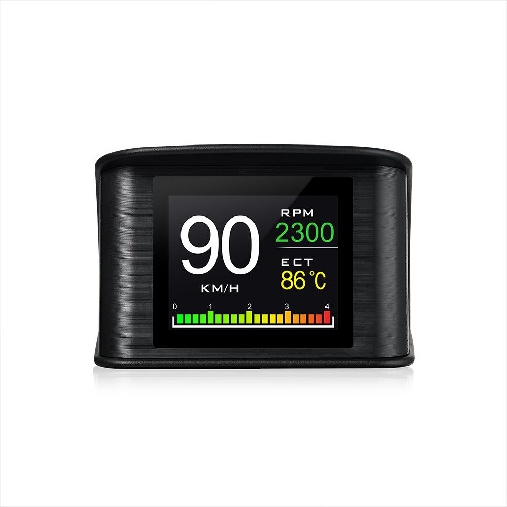 OBD2 Compteur de Vitesse avec Speed Up Test Freinage Test Frein Alarme HD Affichage LCD pour Tout V/éhicule GPS Mod/èle GPS Universel de Voiture HUD Head Up Display Digital GPS