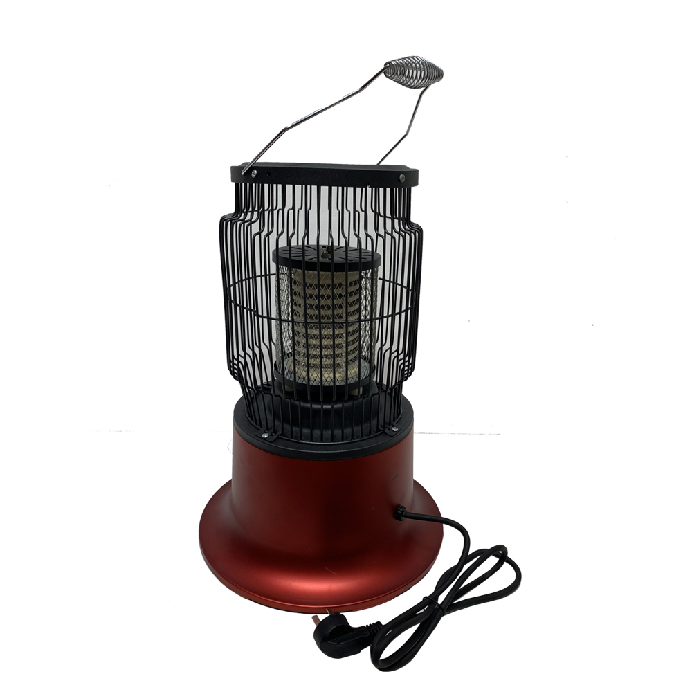 Cage and BBQ Electrical room radiant heater