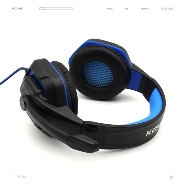 Gaming Headphone For PS4 Computer Headset Surround Sound Over Ear Headphones With Mic & LED Light &3.5MM Jack