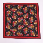 Scarf Professional Wholesale Factory Flower Pattern Silk Scarf Bandana