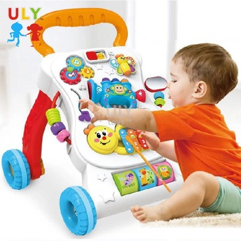 Top selling activity baby walker toys push walker baby musical baby walker 2019