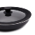 Universal Lid for Pots, Pans and Skillets - Tempered Glass with Heat Resistant Silicone Rim, Fits 20/22/24cm Diameter Cookware