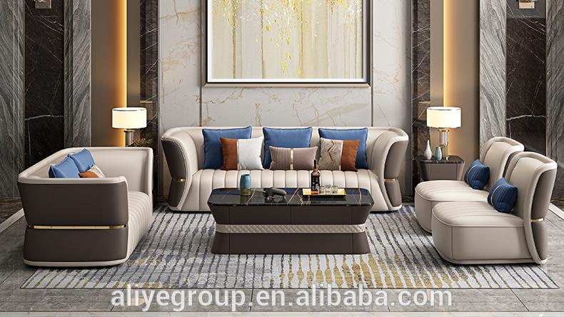 आधुनिक इतालवी ब्रांड स्लिम कमर नई मॉडल सोफा सेट चित्र कमरे में रहने वाले सोफे सेट