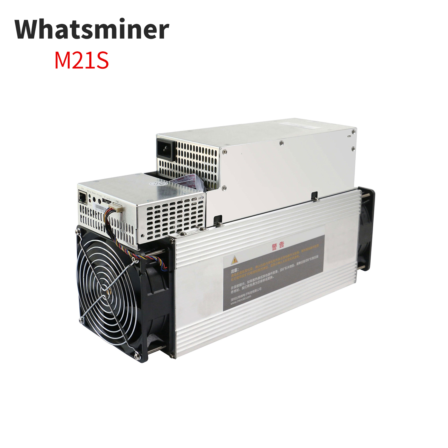 Exceedingly terrific asic miner 62T 3348W microbt whatsminer m21s bitcoin miner