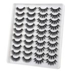 Eyelashes False Wholesale Vendor Bulk Mink Eyelashes False Eyelashes Natural Volume Faux Mink Lashes Pack