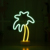 Flamingo unicorn cloud heart love neon table lamp with battery powered or USB cable for wedding party