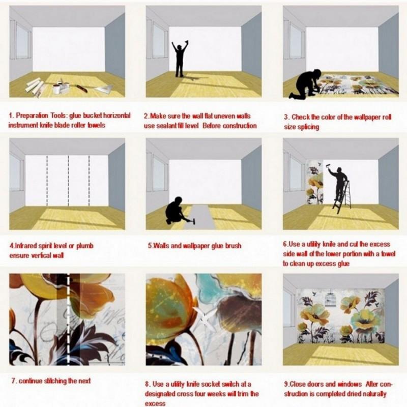 Tùy Chỉnh Bức Tranh Tường Hình Nền Cho Bức Tường 3D Không Gian Châu Âu Đám Cưới Nhà Thờ Hội Trường Tường Trang Trí Sơn Ảnh Tường Giấy Trang Trí Nội Thất